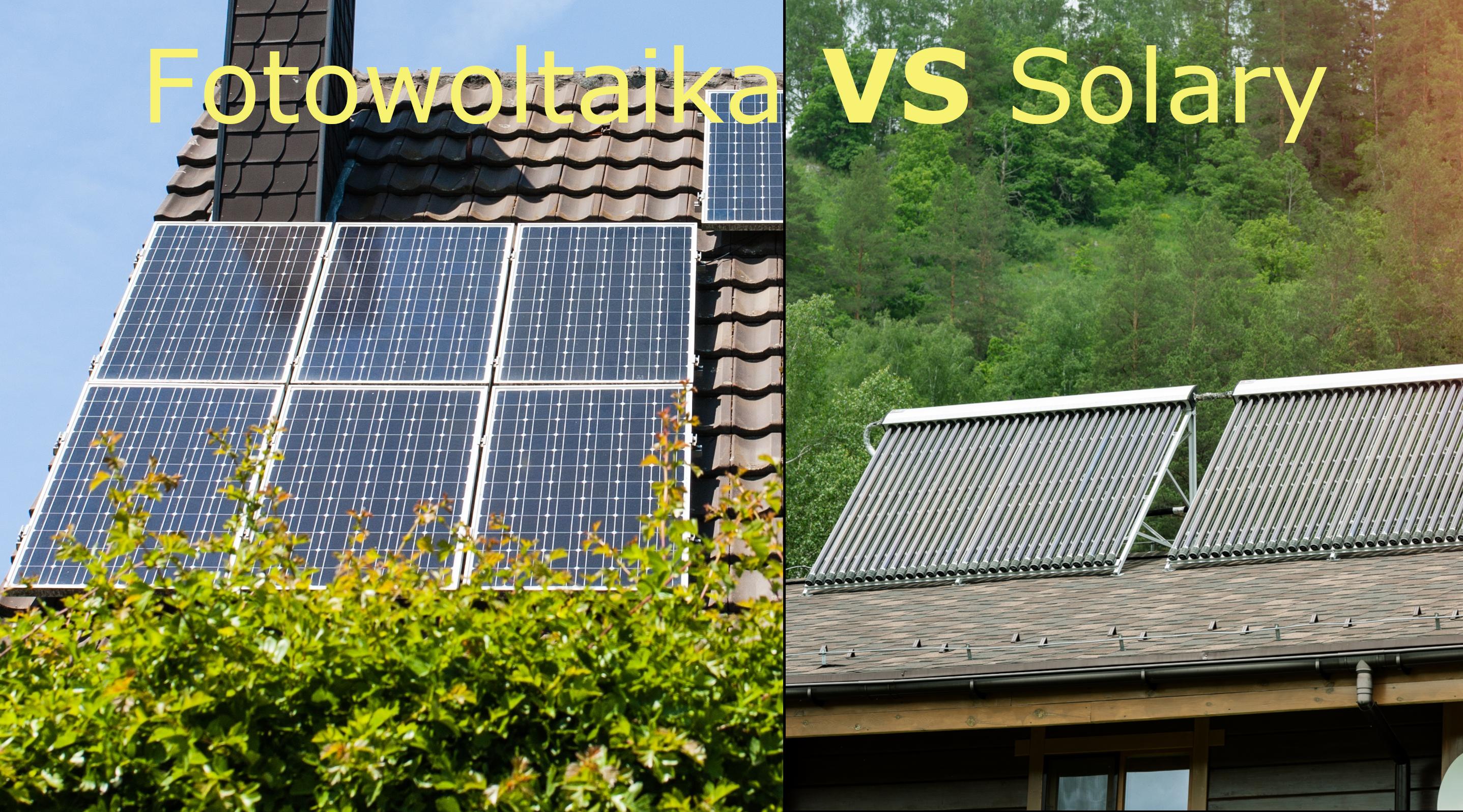 panele solarne a fotowoltaika